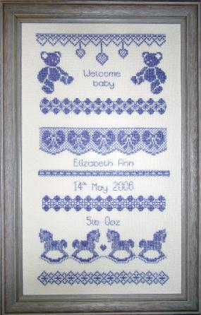 Baby Cross-Stitch Patterns