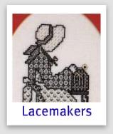 Miniatura Lacemaker Blackwork