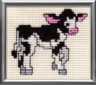 KIDS FARM STICK ANIMALS EMBROIDERY MACHINE DESIGNS SET