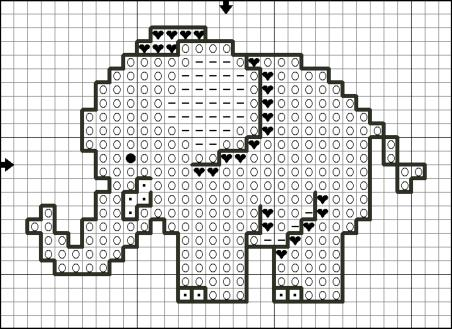 free-cross-stitch-patterns-elephants (48K)
