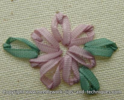 Silk Flower Petals on 19 Nov 2008 You Can Hand  Embroider Exquisite Designs With Just A Few