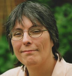 Carol Leather, author of Blackwork for Beginners