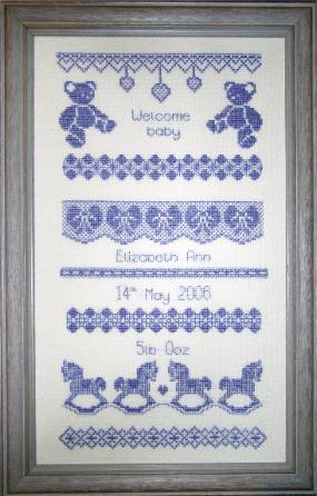Free Spring Cross-stitch Patterns - Easter Cross-stitch