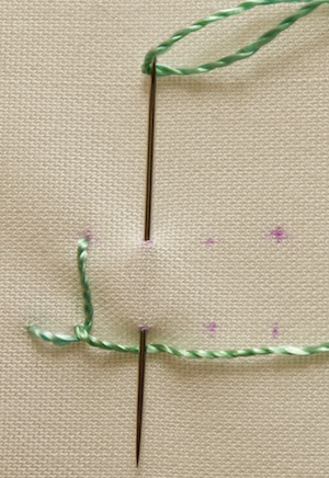 Blanket stitch - for more than bed covers