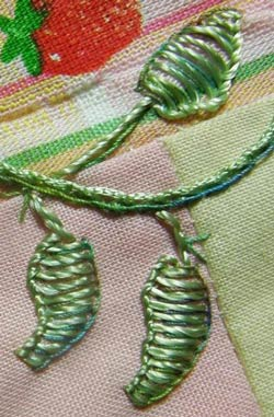 How To Embroider A Leaf Different Stitches For Different Effects