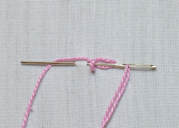 cable chain stitch step 3