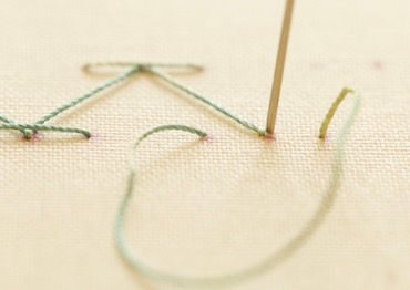 Step 4 stab stitch method