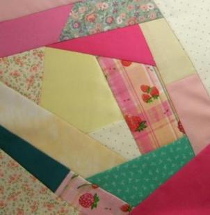 Piecing a Crazy Quilt Block : making a crazy quilt - Adamdwight.com