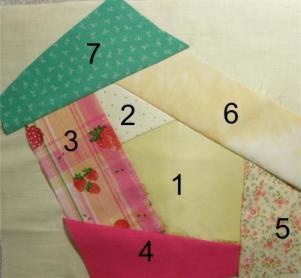 Piecing a Crazy Quilt Block : how to make crazy quilt - Adamdwight.com