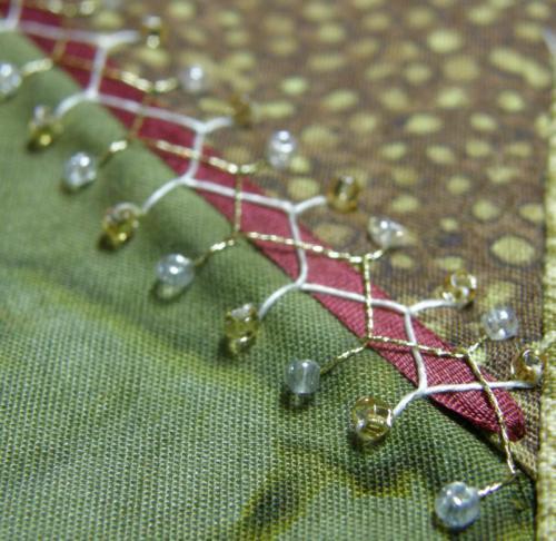 cretan stitch used for crazy quilt seam