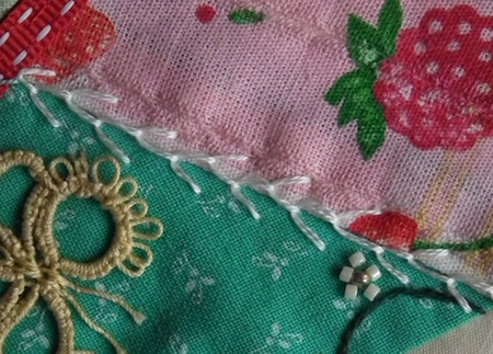 Feather Stitch And Variations