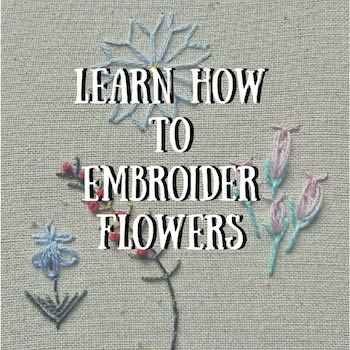 more hand embroidery for beginners