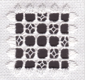Lesson 2 of the free hardanger embroidery class