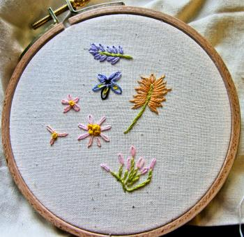 Pics Photos  How To Hand Embroider Flowers Embroidery Designs